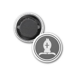 Chess Piece White Bishop Magnets
