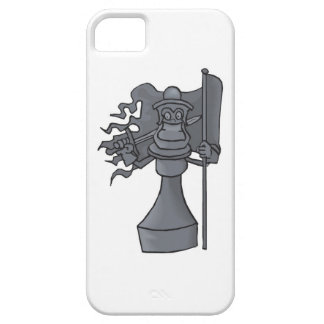 Chess Piece with Sword and Flag Cell Phone Case
