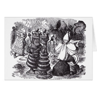 Chess Pieces Card