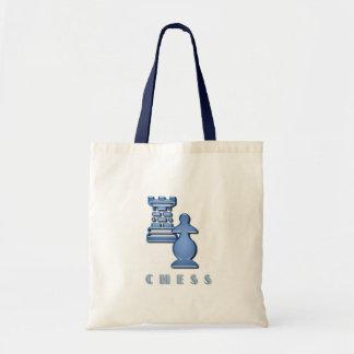 Chess Pieces Environmental Tote Bag