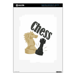 Chess Pieces iPad 3 Decals