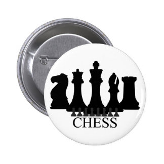 Chess Pieces Key Chain Button