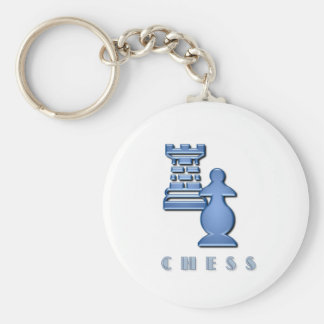 Chess Pieces Keychain