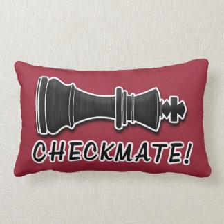 Chess Pieces Lumbar Pillow