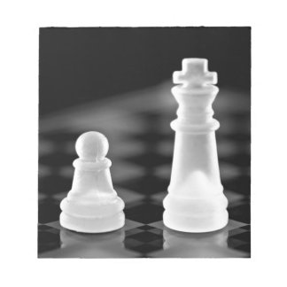 Chess pieces notepad