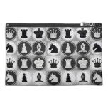 Chess Pieces Pattern Travel Accessories Bags