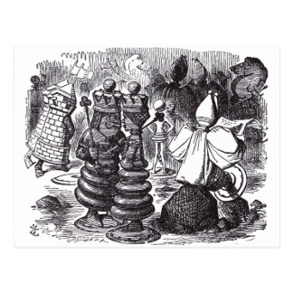 Chess Pieces Postcards