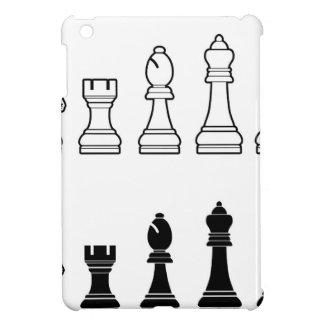 Chess pieces set iPad mini case