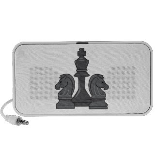 Chess Pieces Portable Speaker