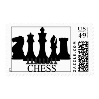 Chess Pieces Stamps