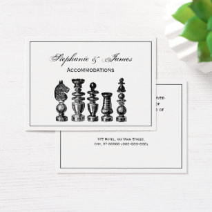 Chess bishop business cards templates zazzle chess pieces vintage art business card reheart Gallery