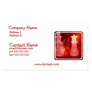 Chess Play Business Card