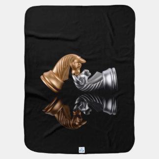 Chess Play Game Stroller Blanket