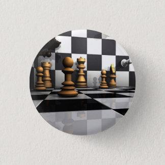 Chess Play King Pinback Button