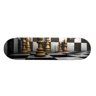 Chess Play King Skateboard Deck