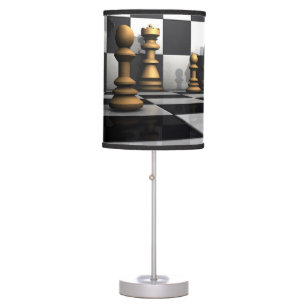 Chess Play King Table Lamp