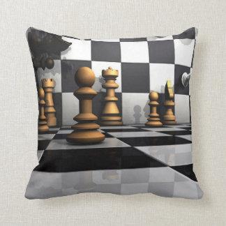 Chess Play King Throw Pillow