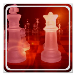 Chess Play Poster Print