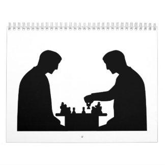 Chess player calendars