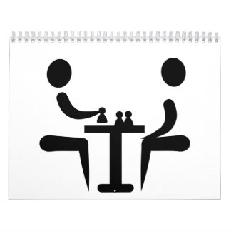 Chess player calendar