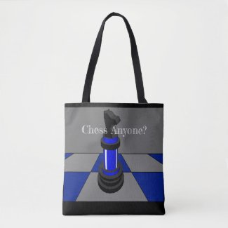 Chess Player Game STEM Fun Geek Gift Tote Bag