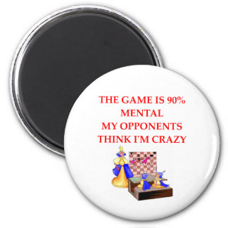 chess player gifts t-shirts 2 inch round magnet