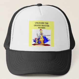 CHESS player grand master Trucker Hat