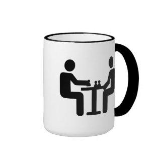 Chess player logo mug