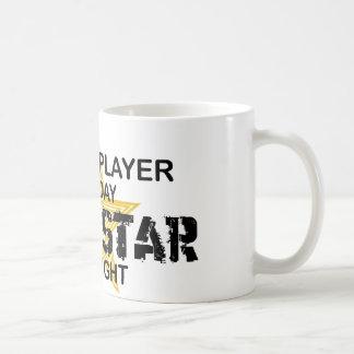 Chess Player Rock Star by Night Coffee Mug