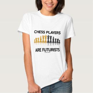 Chess Players Are Futurists (Reflective Chess Set) Tee Shirt