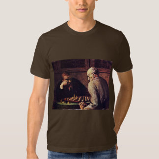 Chess Players By Daumier Honoré Shirt
