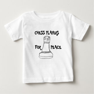 Chess Players For Peace Baby T-Shirt