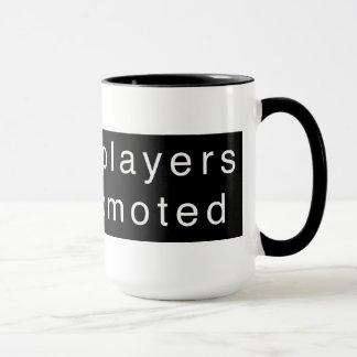 Chess Players Get Promoted Mug