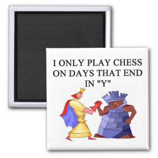 chess players refrigerator magnets