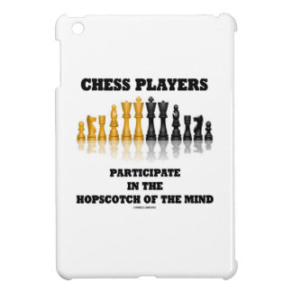 Chess Players Participate In The Hopscotch Of Mind Case For The iPad Mini