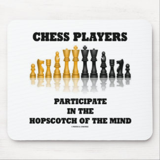 Chess Players Participate In The Hopscotch Of Mind Mouse Pad