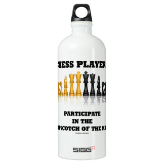 Chess Players Participate In The Hopscotch Of Mind SIGG Traveler 1.0L Water Bottle