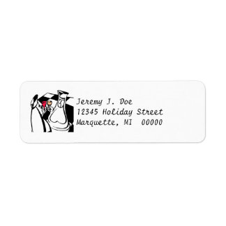 Chess Players Pieces Player Return address Labels