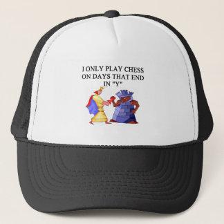 chess players trucker hat