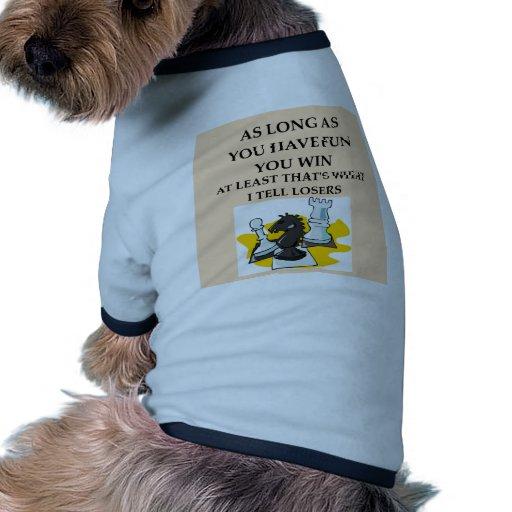 CHESS.png Camisetas De Perro