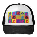 Chess Pop Art Mesh Hats