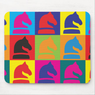 Chess Pop Art Mouse Pads