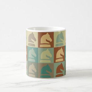 Chess Pop Art Classic White Coffee Mug