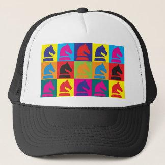 Chess Pop Art Trucker Hat