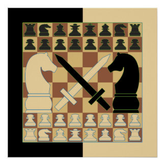 CHESS POSTERS