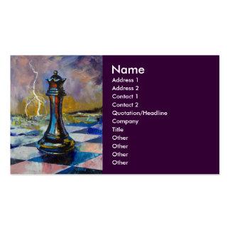 Chess Queen Business Card
