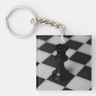 Chess queen keychain