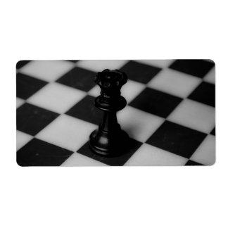 Chess queen label