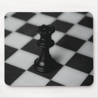 Chess queen mouse pad