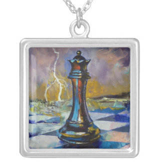 Chess Queen Necklace